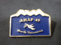 ANAF Army Navy & Air Force Veterans #45 North Vancouver Canada Mountain Lapel Pin - Treasure Valley Antiques & Collectibles