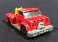 1977 Matchbox Superfast Lesney Products Red Snorkel Fire Engine No. 13 - Made in England - Treasure Valley Antiques & Collectibles