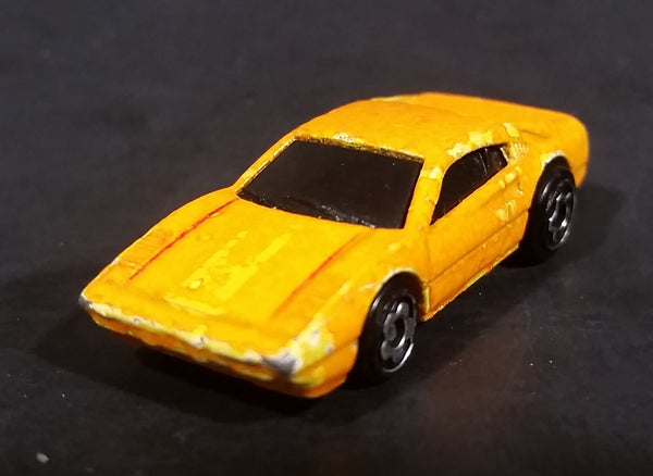 Rare 1977 Mattel Hot Wheels Micro Racers Ferrari 308 Orange Sports Car