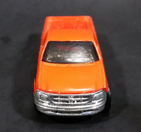 1996 Hot Wheels 1997 Ford F-150 Orange w/ Flames Die Cast Toy Pickup Truck Vehicle - Treasure Valley Antiques & Collectibles