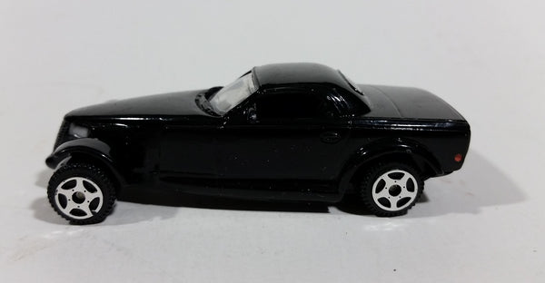 Motor Max Chrysler Howler Concept Black Die Cast Toy Car Vehicle - 5 Spoke Wheels - Treasure Valley Antiques & Collectibles