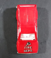 Majorette Novacar No. 107 Fire Dept No. 2 Die Cast Toy Truck SUV Emergency Rescue Vehicle - Treasure Valley Antiques & Collectibles