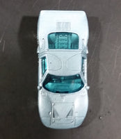 2002 Hot Wheels 1960s Ford GT-40 Octoblast Metallic Pale Blue Die Cast Toy Race Car Vehicle - Treasure Valley Antiques & Collectibles