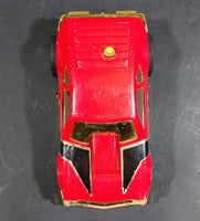 Vintage Tonka - Chevrolet Monza Race Car Pullback and Go Red Pressed Steel Friction Car - Treasure Valley Antiques & Collectibles