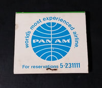 Vintage Pan Am Airlines Lee Gardens Hotel Hysan Avenue, Hong Kong Full Match Pack - Treasure Valley Antiques & Collectibles