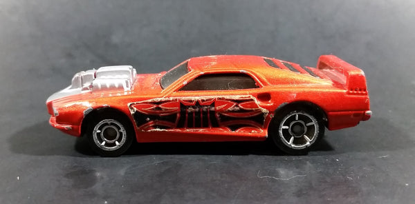2005 Hot Wheels AcceleRacers Rivited Orange Die Cast Toy Car Vehicle - McDonalds Happy Meal - Treasure Valley Antiques & Collectibles
