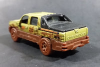 2008 Matchbox Outdoor Adventure Chevy Avalanche Truck Olive Green MB86 Die Cast Toy Car Vehicle - Treasure Valley Antiques & Collectibles