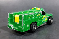 1986 Hot Wheels Workhorses Rescue Ranger Green Die Cast Toy Truck Vehicle - Treasure Valley Antiques & Collectibles