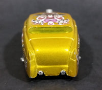 2005 Hot Wheels Crazed Clowns Series II '49 Merc (HardNoze) Gold Die Cast Toy Car Vehicle - Treasure Valley Antiques & Collectibles
