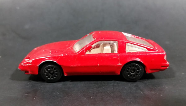 1980s Zee Dyna Wheels Nissan 300ZX Red D78 Die Cast Toy Sports Car Vehicle - Treasure Valley Antiques & Collectibles