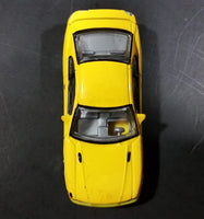 Realtoy Ford Mustang Yellow Die Cast Toy Car Vehicle - 1/64 Scale - Treasure Valley Antiques & Collectibles