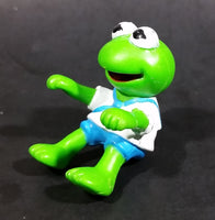 "1990 Muppet Babies Baby Kermit The Frog 2"" Figurine McDonalds Happy Meal Toy"