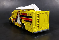 Rare Matchbox Freightliner M2 106 Satellite Aerospace Tracking Vehicle Truck Yellow 18 Die Cast Toy Vehicle - Treasure Valley Antiques & Collectibles