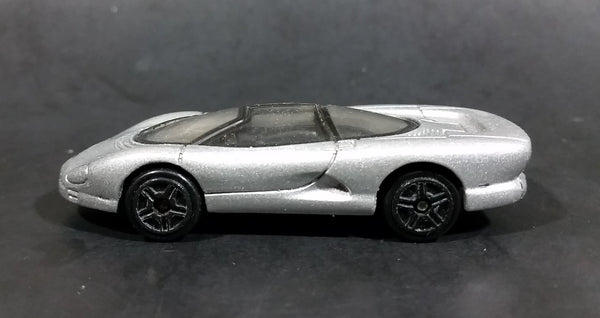 Motor Max Chevrolet Corvette Indy Silver Concept Car Die Cast Toy Vehicle - 5 Spoke Wheels - Treasure Valley Antiques & Collectibles