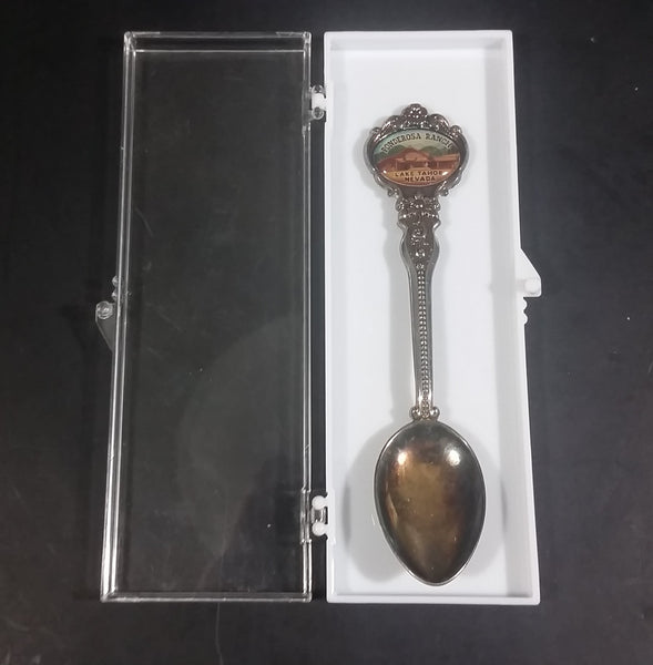 Vintage Ponderosa Ranch Lake Tahoe, Nevada Travel Souvenir Collectible Silver Plated Spoon - Treasure Valley Antiques & Collectibles