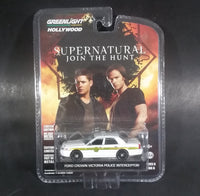 Greenlight Hollywood Collectibles Supernatural Ford Crown Victoria Police Interceptor White Die Cast Toy Car - Treasure Valley Antiques & Collectibles