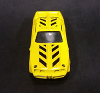 Rare Maisto Crash Test Unit Pontiac Camaro Trans Am Yellow Die Cast Toy Vehicle - Treasure Valley Antiques & Collectibles
