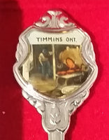 Hollinger Gold Mine Timmins, Ontario, Canada Spoon Souvenir Travel Collectible - In Case - Treasure Valley Antiques & Collectibles