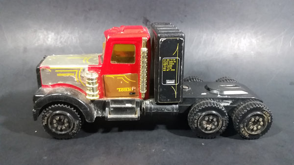 Vintage Tonka 58150 Kenworth Semi Truck Rig Pressed Steel Toy Vehicle - Treasure Valley Antiques & Collectibles