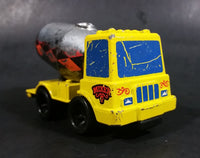 Rare 1979 Mattel First Wheels Cement Mixer Truck Yellow Die Cast Toy Vehicle - Hong Kong - Preschool - Treasure Valley Antiques & Collectibles