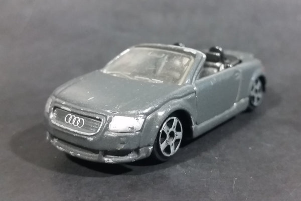 Maisto Motor Works AUDI TT Roadster Convertible Grey Die Cast Toy Car Vehicle - Treasure Valley Antiques & Collectibles