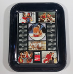 1982 Coca-Cola Coke Youth Outdoors Beach Skiing Sports Calendar Beverage Serving Tray