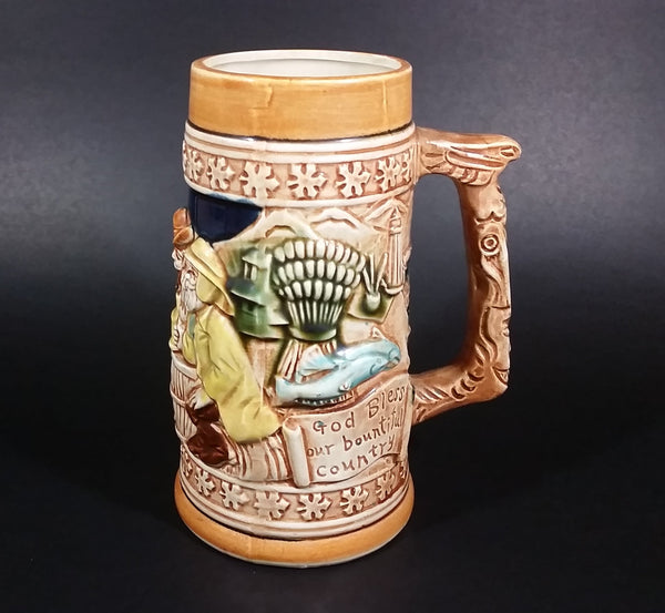 Rare 1967 Canadian Centennial Beer Stein Tankard - Treasure Valley Antiques & Collectibles