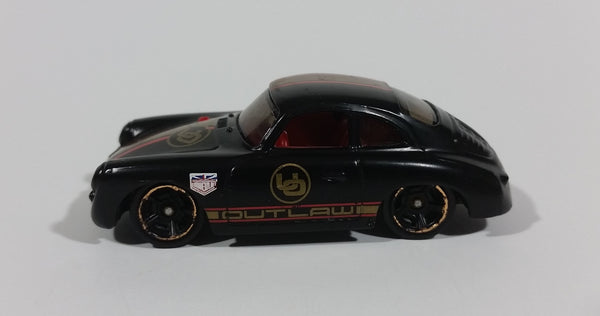 2016 Hot Wheels Showroom 10/10 Porsche 359A Outlaw Black Diecast Toy Car Vehicle - Treasure Valley Antiques & Collectibles