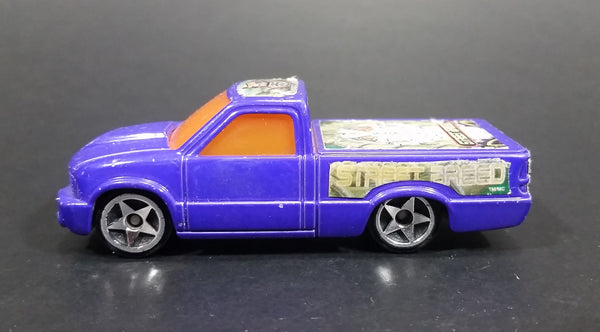 2003 Hot Wheels Street Breed Street Truck Purple Die Cast Toy Vehicle McDonalds Happy Meal - Treasure Valley Antiques & Collectibles
