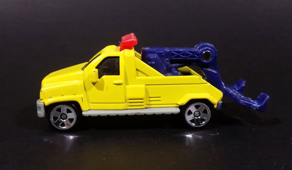 2002 Hot Wheels Wrecker Truck Yellow Die Cast Toy Vehicle McDonalds Happy Meal - Treasure Valley Antiques & Collectibles
