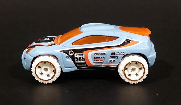 2011 Hot Wheels Thrill Racers - Ice - Toyota RSC Pale Blue Die Cast Toy Concept Car SUV Vehicle - Treasure Valley Antiques & Collectibles