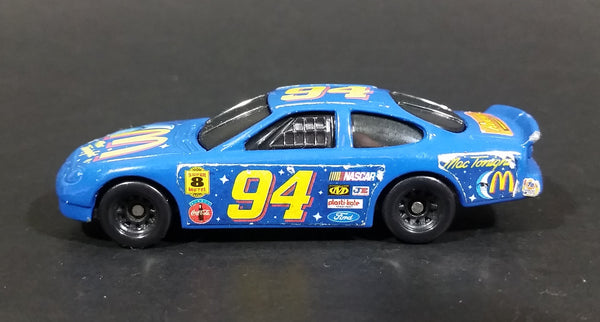"1998 McDonalds Hot Wheels Blue Moon ""Mac Tonight"" Nascar #94 Diecast Toy Car - Treasure Valley Antiques & Collectibles"