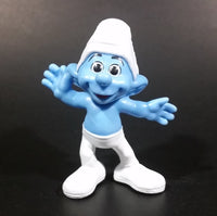 "2013 Peyo Smurf ""Crazy"" #11 McDonalds Happy Meal Collectible Toy Figurine - China - Treasure Valley Antiques & Collectibles"