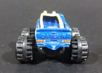 1987 LTGI Galoob Micro Machines Off Road Pickup Datsun Monster Truck Yellow Blue - Treasure Valley Antiques & Collectibles