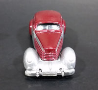 2005 Hot Wheels 1936 Cord Metalflake Burgundy & Silver Die Cast Toy Hot Rod Car Vehicle - Treasure Valley Antiques & Collectibles