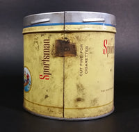 1960s Sportsman Extra Mild Cigarette Tobacco Tin No Lid has Grease marks