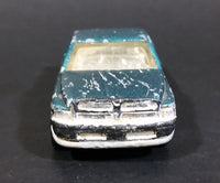 1995 Hot Wheels Dodge Ram 1500 Pickup Truck Metalflake Green Die Cast Toy Car Vehicle - Treasure Valley Antiques & Collectibles