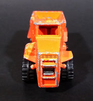 1983 Hot Wheels Extra Series Oshkosh Snow Plow Truck Orange (Metal Cab) Die Cast Toy Car Vehicle - Treasure Valley Antiques & Collectibles