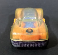 1995 Hot Wheels Lightning Speed #9 Orange Die Cast Toy Car Vehicle - McDonalds Happy Meal - Treasure Valley Antiques & Collectibles