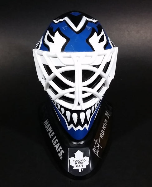 1996-97 McDonalds Mini Goalie Mask Toronto Maple Leafs Felix Potvin #29 - Treasure Valley Antiques & Collectibles