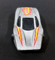 1985 Hot Wheels Large Charge Silver Bullet Metallic Silver Die Cast Toy Car Vehicle - Treasure Valley Antiques & Collectibles