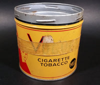 Vintage 1960s Vogue Mild Cigarette Tobacco Tin No Lid (Has old masking tape around it) - Treasure Valley Antiques & Collectibles