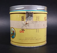 1960s Sportsman Extra Mild Cigarette Tobacco Tin No Lid (Has masking tape around it)