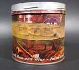 "Vintage Old Port Pipe Tobacco 'Extra Mild Flavored with Rum and Wine"" Tin Can Masking Tape + No Lid + Color Fade - Treasure Valley Antiques & Collectibles"