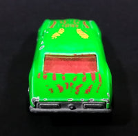 1996 Hot Wheels 1967 Chevrolet Camaro Bright Green Die Cast Toy Car Vehicle w/ Opening Hood - Treasure Valley Antiques & Collectibles
