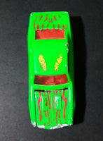 1996 Hot Wheels 1967 Chevrolet Camaro Bright Green Die Cast Toy Car Vehicle w/ Opening Hood