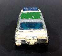 1996 Matchbox 4x4 Chevy Blazer Park Police Truck SUV Tan & Green Die Cast Toy Car Vehicle