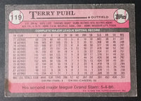 1989 Topps Baseball Cards (Individual) - Treasure Valley Antiques & Collectibles
