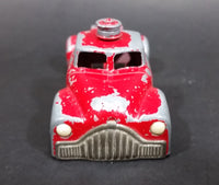 Rare 1950s Vilmer Chevy Esso Oil Gas Stations Red Fuel Transport Truck Die Cast Toy Vehicle - Treasure Valley Antiques & Collectibles