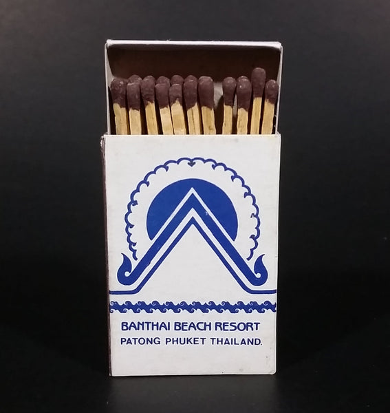 Banthai Beach Resort Patong Phuket Thailand Souvenir Promotional Wooden Matches Pack Travel Collectible - Treasure Valley Antiques & Collectibles